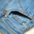 Dabuwawa denim saia de cintura alta algodão