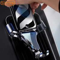 TORRAS Gravity Car Mount Stand Phone Holder Windshield Phone Holder Car Mount For IPhone For Samsung