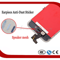 100pcs/lot Earpiece Speaker Anti-Dust Mesh Net Sticker for iPhone 4 4G 4S Repair Parts