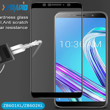 Full Screen Cover Tempered Glass For Asus Zenfone Max Pro M1 ZB602KL ZB601KL 2.5D Curved oleophobic Go