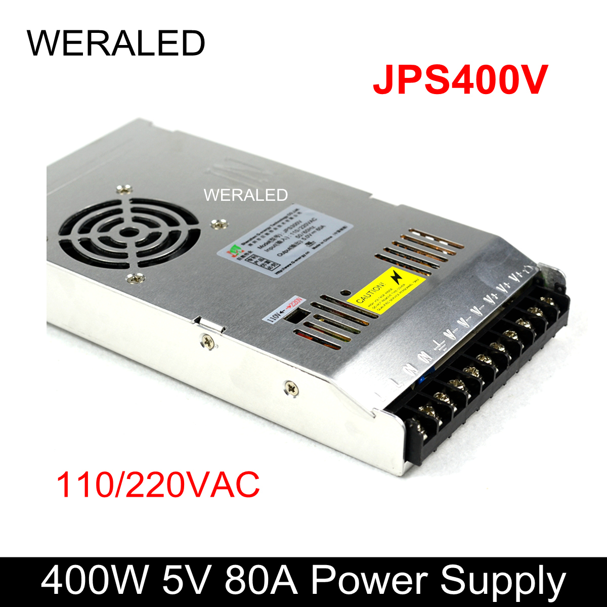 G-energy 5V 80A 400W LED Display Power Supply JPS400V ,Input 110/220VAC PSU Work for P10 P8 P6 P5 P4 P3 P2.5 P2 LED Module