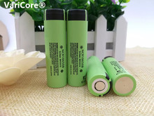 4 pcs / lot New Original 18650 NCR18650B Rechargeable Li-ion Battery 3.7V 3400 mAh For Flashlight + Free Shipping