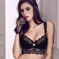 Everyday Women Sexy Bra Set Lace Thin Floral Embroidery Transparent Bras Brief Set Designer Underwear Mesh Brassiere Gauze Panty