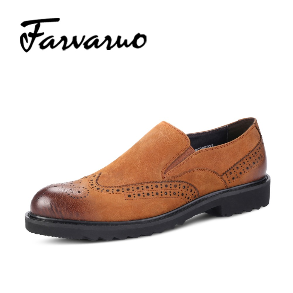 Farvarwo New Fashion Genuine Leather Men Oxford Shoes Autumn British Style Casual Dress Shoes Men's Luxury Flats Slip On Loafers new style comfortable casual shoes men genuine leather shoes non slip flats handmade oxfords soft loafers luxury brand moccasins