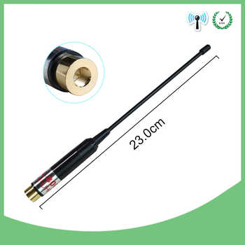 2pcs SMA-Male Telescopic Antenna dual band for walkie talkie BAOFENG UV-3R TONFA 985 TYT TH-F5 Yaesu VX-3R/6R/7R two-way radio - DISCOUNT ITEM  18% OFF All Category