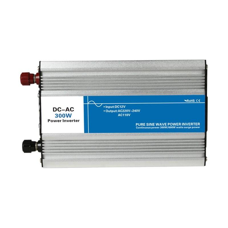 цена на Power 300W DC Input 12V 24V 48V AC Output 110V 220V Pure Sine Wave Off Grid Tie Inverter Custom Solar LED Display Watt Volt