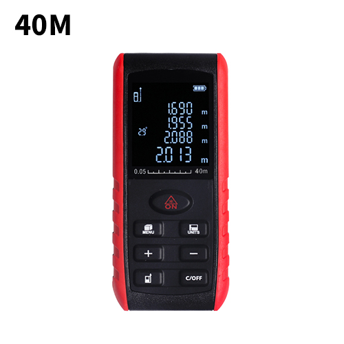 40/60/ 80/100M Handheld laser Distance Meter Range Finder Area Volume Measure Angle Indication High precision Laser rangefinder handheld laser distance 40 60 80 100m meter range finder area volume measure angle indication high precision laser rangefinder