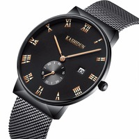 KASHIDUN Men S Watches Luxury Top Brand Business Military Casual Wrist Watch Waterproof Calendar Square Dial