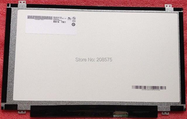 "Free shipping B140XW03 V.0 V.1 V.2 B140XW02 V.2 BT140GW03 N140BGE-L31 14.0"" SLIM LAPTOP NOTEBOOK SCREEN  Display Laptop Screen"
