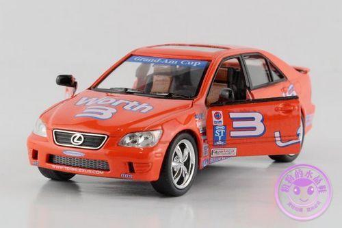 1 PC 12.5cm Kinsmart Lexus IS 300 1:36 racing edition alloy model car toys boomerang children gifts