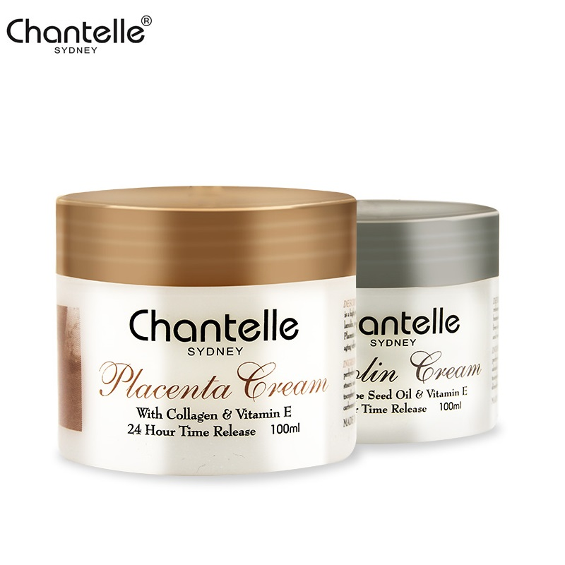 Australia Chantelle Sheep Placenta Collagen Lanolin Cream Grape Seed Oil Anti aging Anti wrinkle Moisturizing Cream