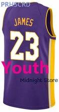 PRHSCRD New Basketball Shirt 13 James Harden 25 Ben Simmons 45 Donovan  Mitchell 23 James 2 Kawhi Leonard Youth Boys Jersey 0d4bdba1b