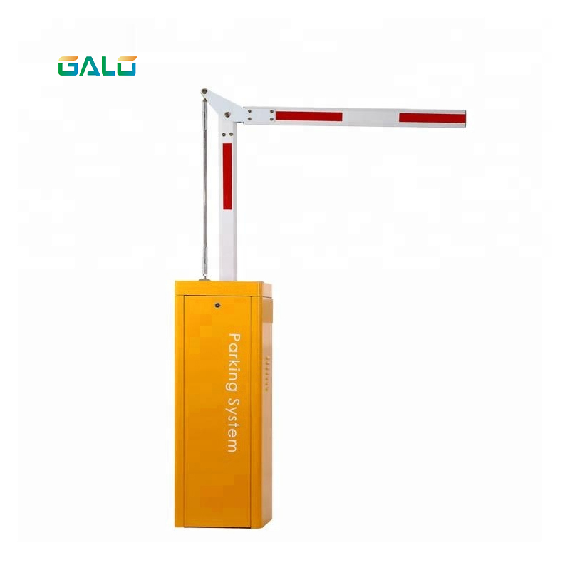 90 Degree Barrier Gate For Car Parking With Remote Control Push Button