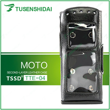 Brand New Leather Bag for Walkie Talkie MOTO TETRA MTP 850