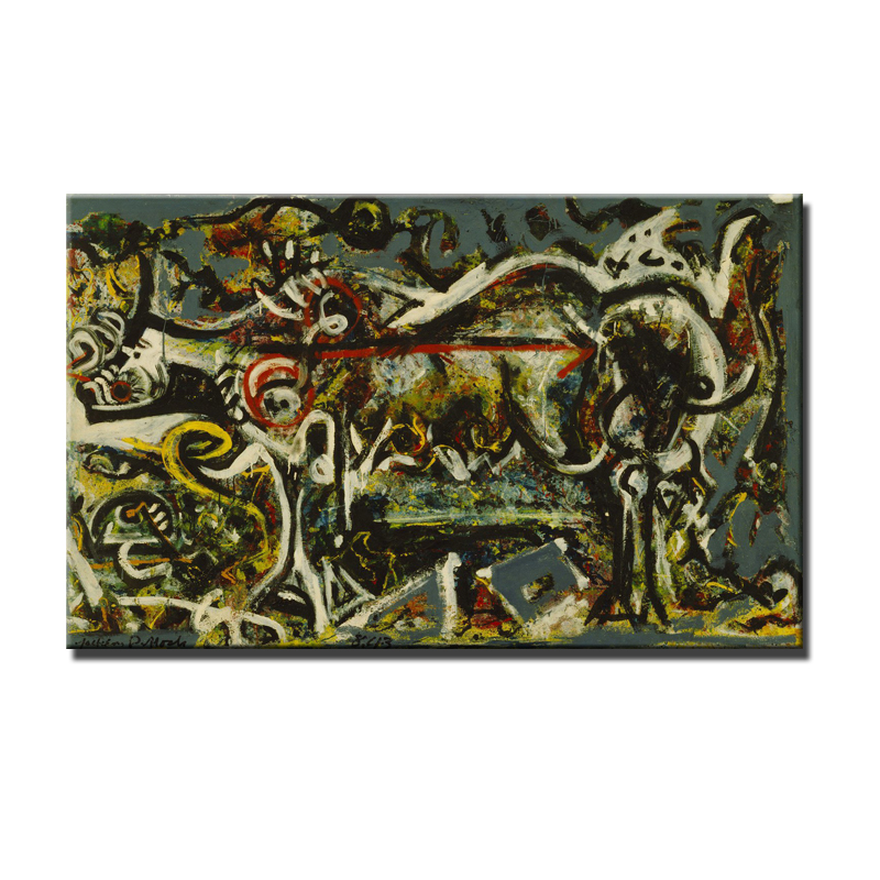 Online Buy Wholesale jackson pollock canvas from China ...