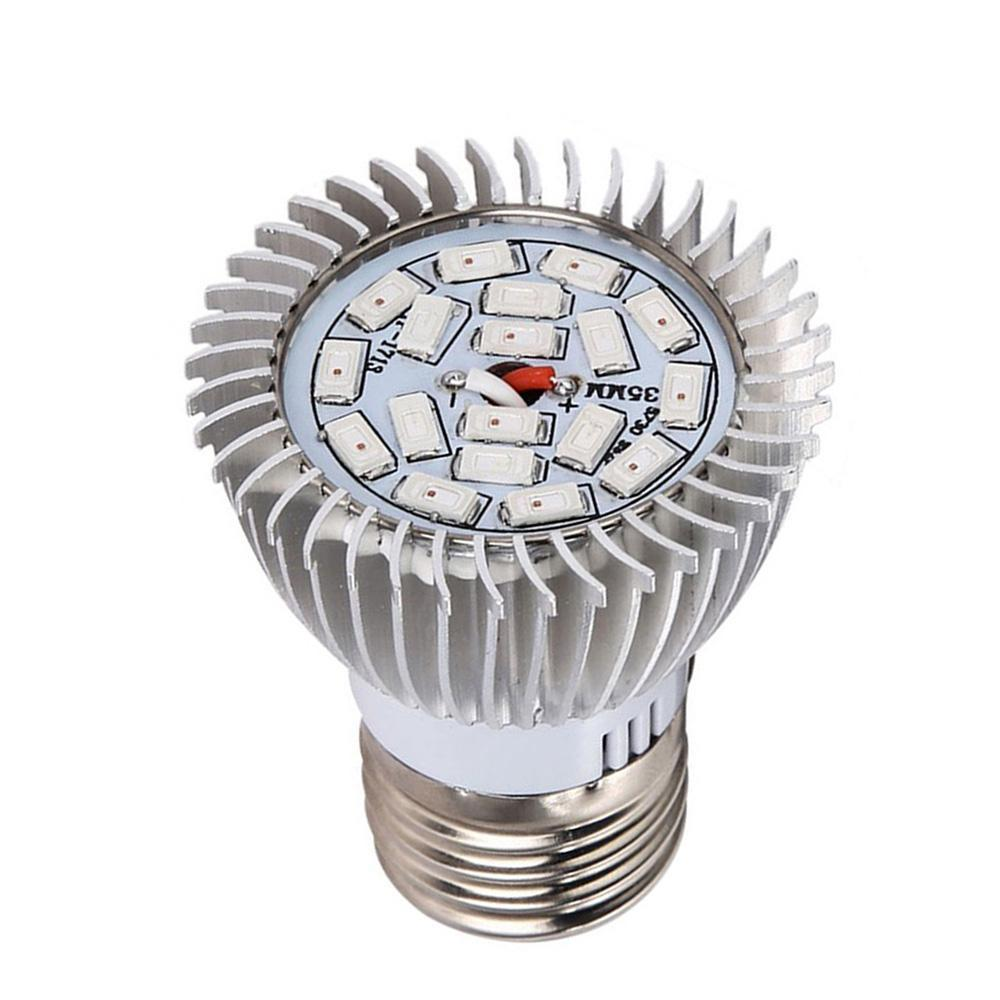 E27 Indoor LED Grow Light Growing Lamp Bulb For Potted Succulent Plant Fruit
