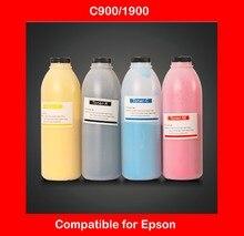 compatible epson C900 c1900 color toner powder refill color powder printer color powder 4KG Free shipping DHL