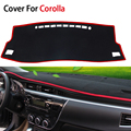 Car Styling Door Protecter Side Edge Protection Pad For Toyota Corolla 2014 2015 Sedan Anti-kick Mat For Automobiles