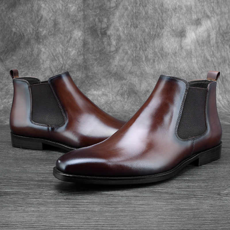 Tan Chelsea Boots Mens Ankle Boots
