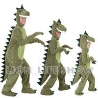Halloween Dinosaur T REX Animal Cosplay Costume Adult Kid Fancy Dress Jurassic