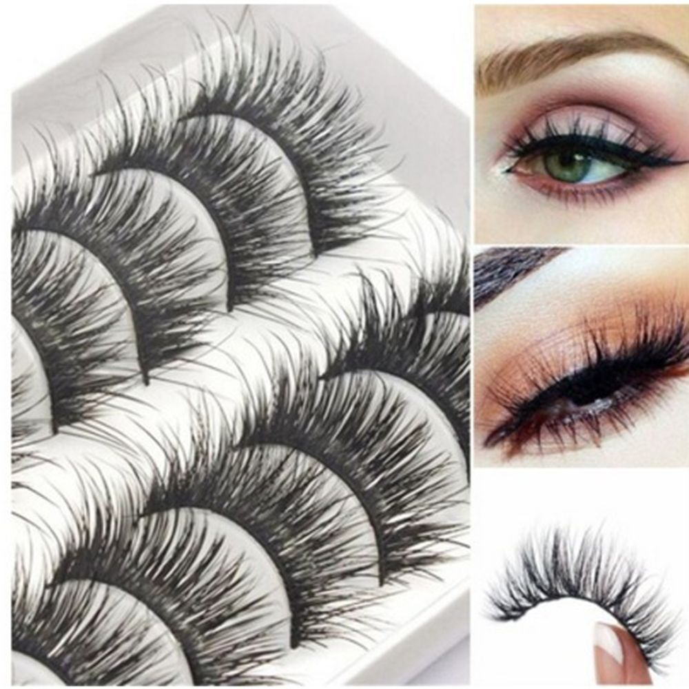 31c08c0ccf7 Makeup Cosmetic Tools Long Lasting Lashes 10 Pair/set Mink Lashes 3D False  Eyelashes