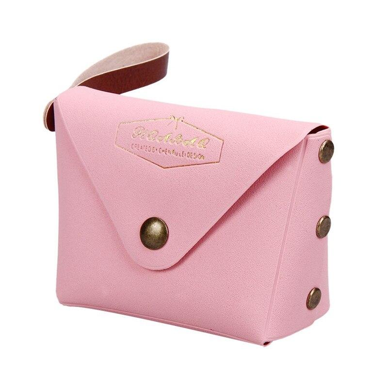 Women Coin Purse PVC Leather Small Change Purses High Quality Wallet Coin Bag Card Holders Women Pouch Mini Purse Bolsa