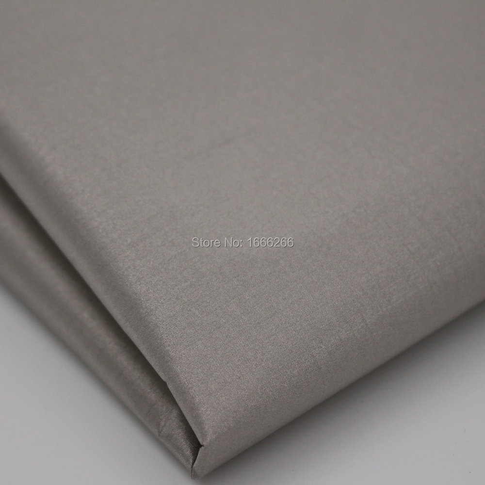 Rip-stop Nickel Copper check Conductive fabric for RFID Blocking Curtain