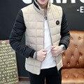 TG6163 Barato al por mayor 2016 nueva edición de han de la ropa de los hombres los hombres cortos de algodón acolchada chaqueta de la ropa de invierno en invierno