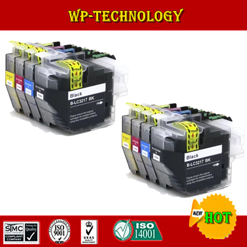 New Compatible Ink Cartridge for Brother LC3217 suit For Brother MFC-J5335DW MFC-J5730DW MFC-J5930DW MFC-J6530DW MFC-J6930DW