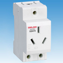цена на Miniature Circuit breaker Air switch DZ47X  DELIXI MCB 2 3 4 pin 10 16 25A