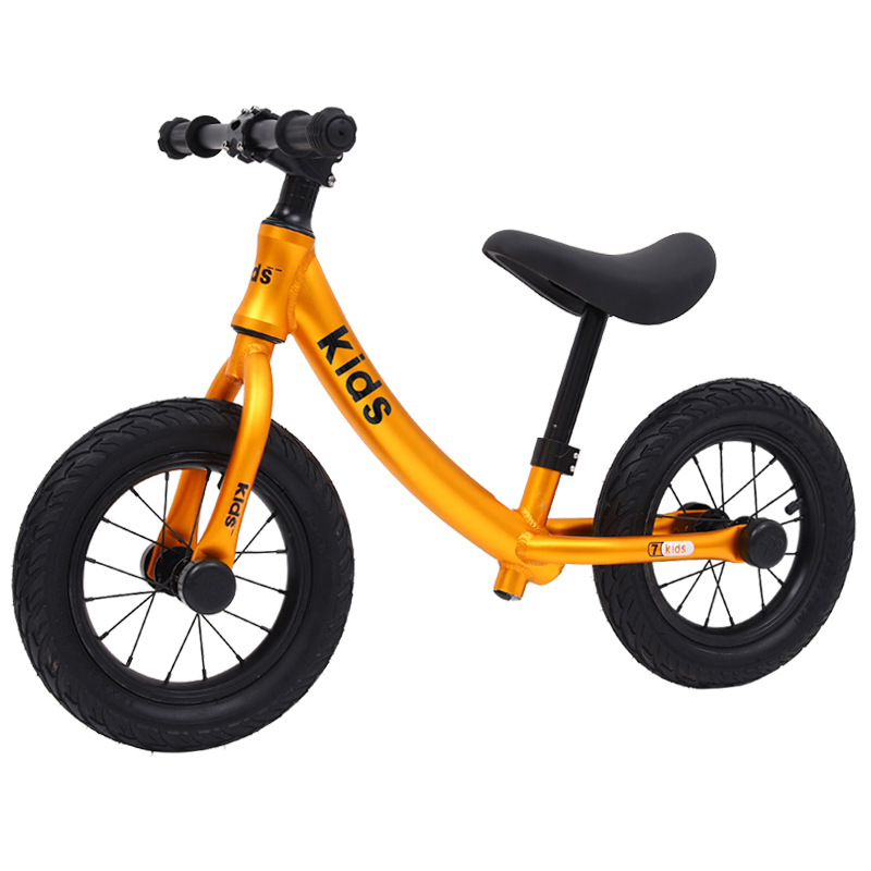 12 Inch Aluminum Balance Bike Toddler No Pedals For 2 – 6 Year Old, 2 Wheel 3