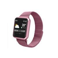 IP68 wateproof rose gold smart watch women sports bracelet smart watch with sleep monitor blood pressure oxygen activity tracker