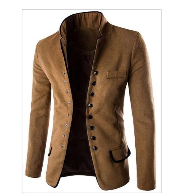 Womens Spring And Autumn Small Suit Jacket Casual Single Breasted Solid Color Fashion Male Blazers Suits L Tops And Blaser J1445
