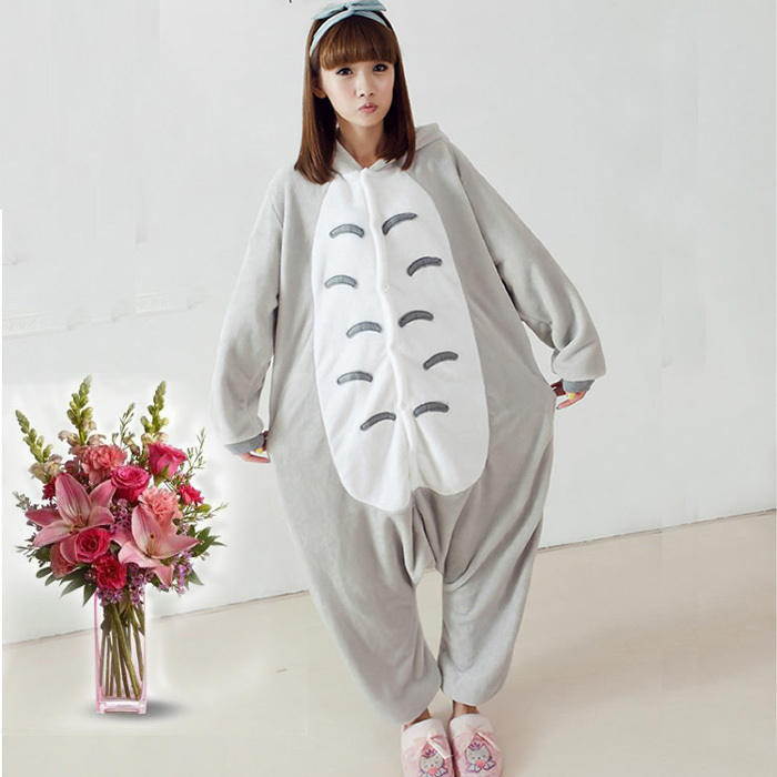 New Style Gray Funny Loose Fleece Onesie Japan Anime Galesaur Cosplay Costume Japan Animal Pajama Pyjamas Party Dress In Stock ...