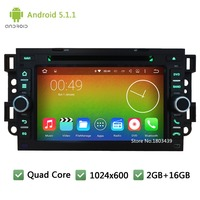 Quad Core Android 5 1 1 1024 600 2GB RAM 16GB Car DVD Player GPS Stereo