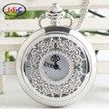 Frete grátis tipo de quartzo Retro feminino Coreano oco flor quartzo relógio de bolso Roma amantes masculinos e femininos DS005
