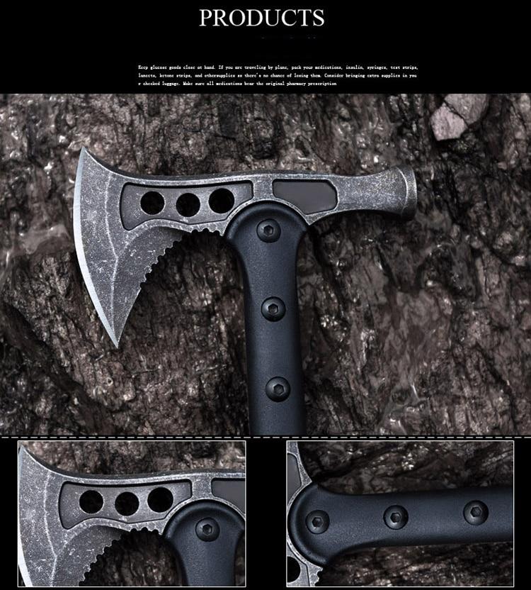 """HX 3 stiliaus amerikietiškas vanagas kirvis taktinis """"Tomahawk"""" - Rankiniai įrankiai - Nuotrauka 5"""
