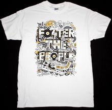 FOSTER THE PEOPLE YOU BETTER RUNer INDIE TWO DOORS CINEMA CLUB NEW WHITE T-SHIRT Top Tee Plus Size T Shirt Harajuku