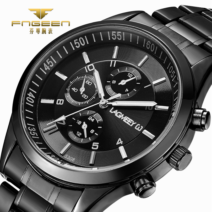 LAGMEEY Business Watch Men Watches 2017 Top Brand Luxury Famous Mens Quartz Watch Wrist Hodinky Male Clock Relogio Masculino new fashion men business quartz watches top brand luxury curren mens wrist watch full steel man square watch male clocks relogio