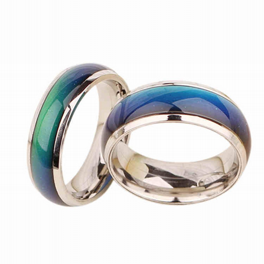 geekoplanet.com - Stainless Ring Mood Ring