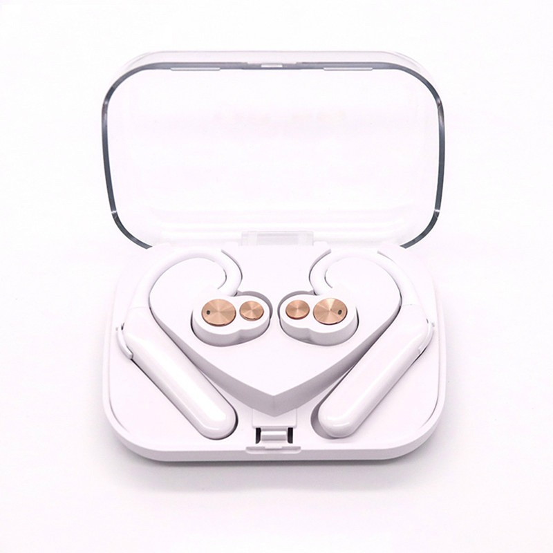 New Fashion X6 TWS Wireless Earbuds Bluetooth Earphone IPX7 Waterproof Headset Deep Bass Stereo Sound Sport Headphone for Phones