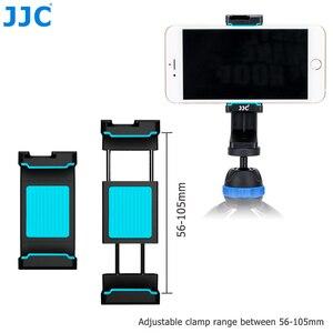 Image 2 - JJC Móvil Soporte 56 105mm Ajustable Clip con Zapata Teléfonos Titular Autofoto Palillo para el iphone/HUAWEI/MI/Samsung
