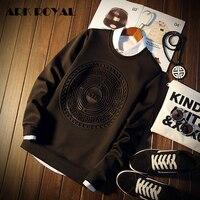 Ark Royal Pullover Hoodies New Fashion Hoodies Men Sweatshirt Monty Are Print Hoodie Men Cool Men