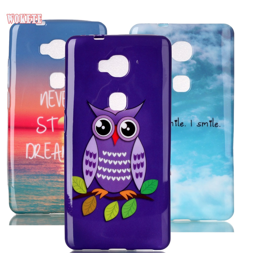 For Huawei 5x Shell Soft Tpu Skin Edge To Priting Fashion Peonia Electroplating Transparent Ultrathin Xiaomi Redmi Note 5 Pro Ai Stylish Style Case Cover Honor Gr5 X5 Capa Us50