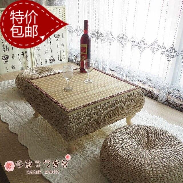 Ventanas y sencilla de estilo japon s mesa de mimbre ikea mesa de caf puede ser creativo de - Mesas de mimbre ...