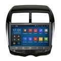 """10.2 """"quad core 5.1.1 puro android de navegação gps do carro para mitsubishi asx rvr outlander esporte citroen c4 aircross puegeot 4008gps"""