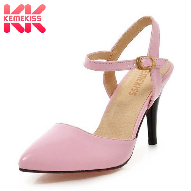 Women High Heel Sandals Pointed Toe Sexy Ladies Shoes Woman Heelde Fashion Sandal Footwear Dress court Shoes Size 31-43 PA00278 new women sandals low heel wedges summer casual single shoes woman sandal fashion soft sandals free shipping