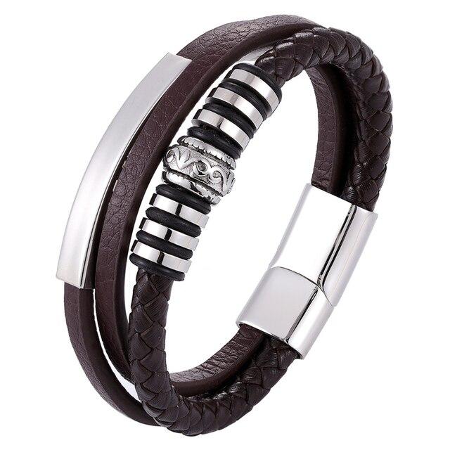 Фото женский многослойный кожаный браслет популярные в европе браслеты