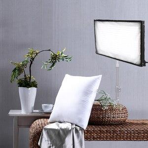 Image 5 - SAMTIAN FL 3060 Flexible LED Video Light Photography Lighting Dimmable 5500K 384 LEDs  30*60cm Panel Light for Video Photo Lamp