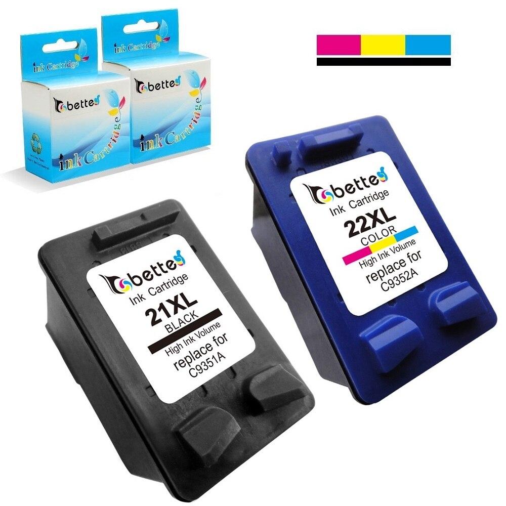 Tintenpatronen für hp 21 22 21xl 22xl deskjet 3910 3915 3918 3920...